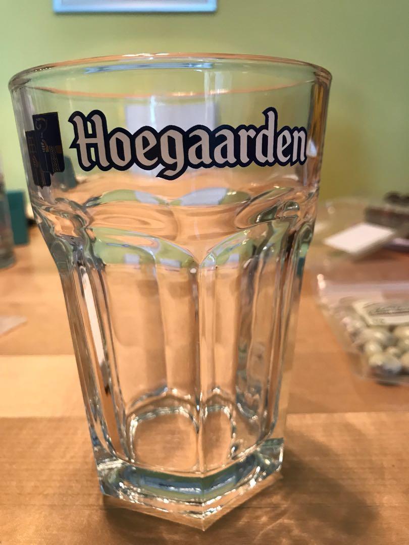 Hoegaarden beer pint glass - 330ml