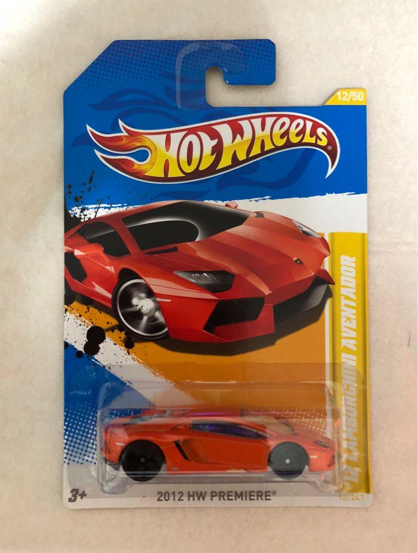 HotWheels Lamborghini Aventador Orange, Toys & Games, Others on Carousell