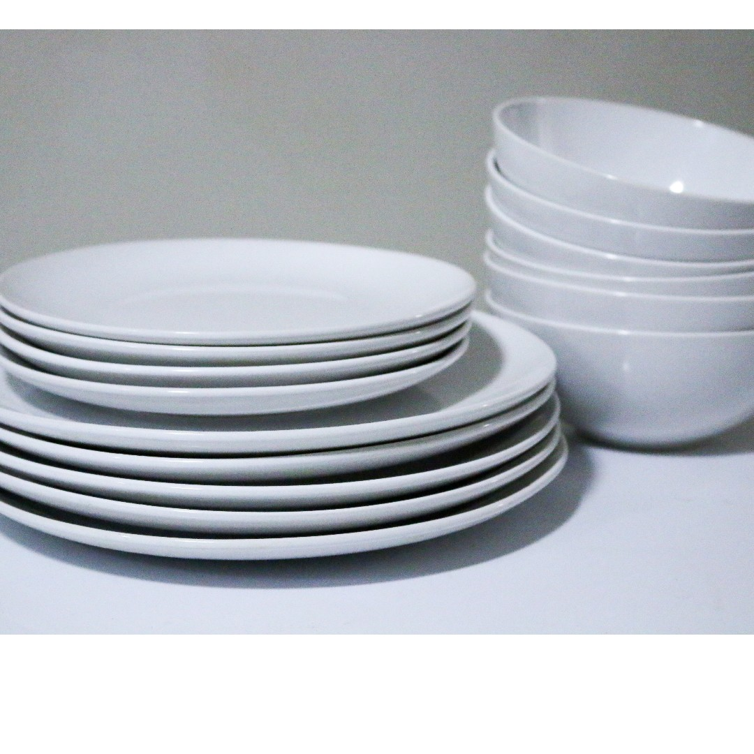 IKEA CROCKERY SET FOR URGENT SALE, Kitchen & Appliances on Carousell
