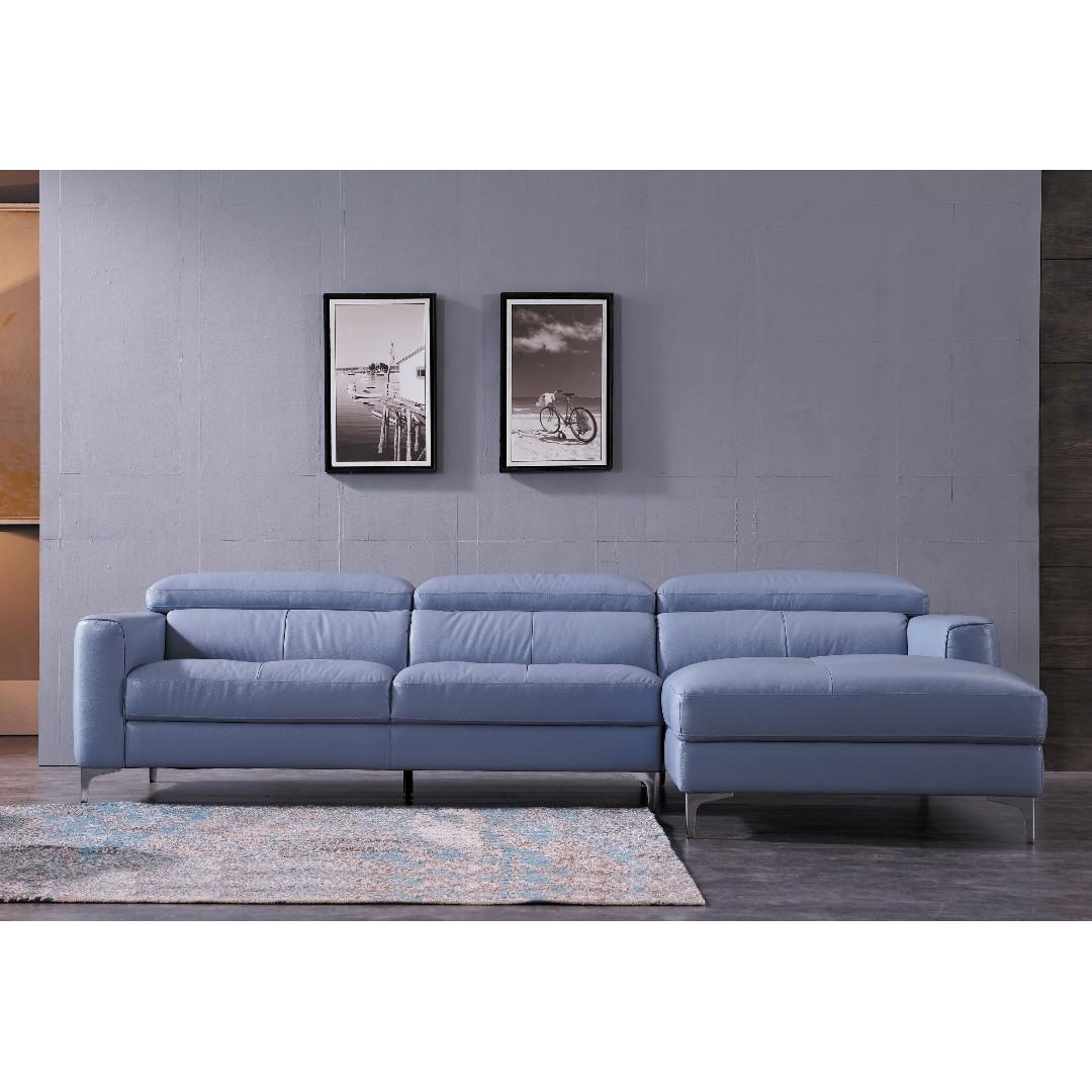 Tremendous Imported Genuine Leather Sofa W Solid Wood Structure Interior Design Ideas Gentotthenellocom
