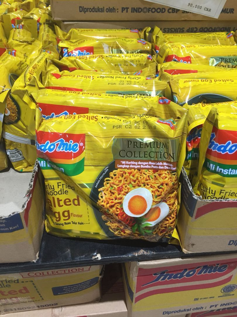 Indomie Salted Egg Flavour Food Drinks Packaged Snacks On Carousell