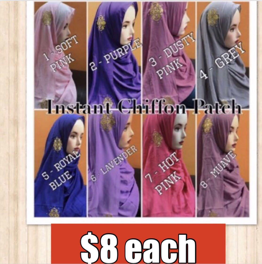 One Loop Pashmina Instan Sakura Series Baby Pink Daftar Harga Hijab Hana 1 Instant Chiffon Patch Shawl Womens Fashion Muslimah On Carousell