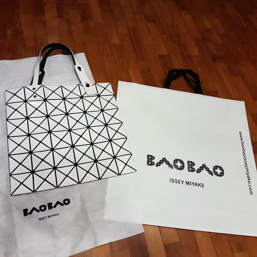 5d42e8f4e09 Issey Miyake Bao Bao Lucent Basic Tote Bag 6x6, Luxury, Bags   Wallets,  Others on Carousell