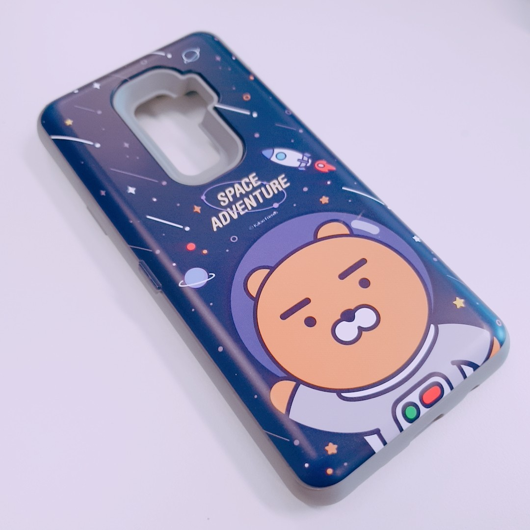 huge selection of 4d0ca 20877 Kakao Friends Space Card Bumper Case (Samsung Galaxy S9+)