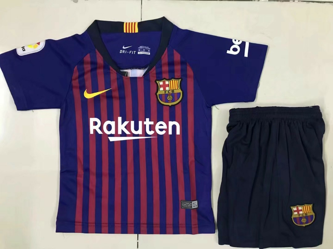 check out 07f66 32d55 barcelona home kit 2018