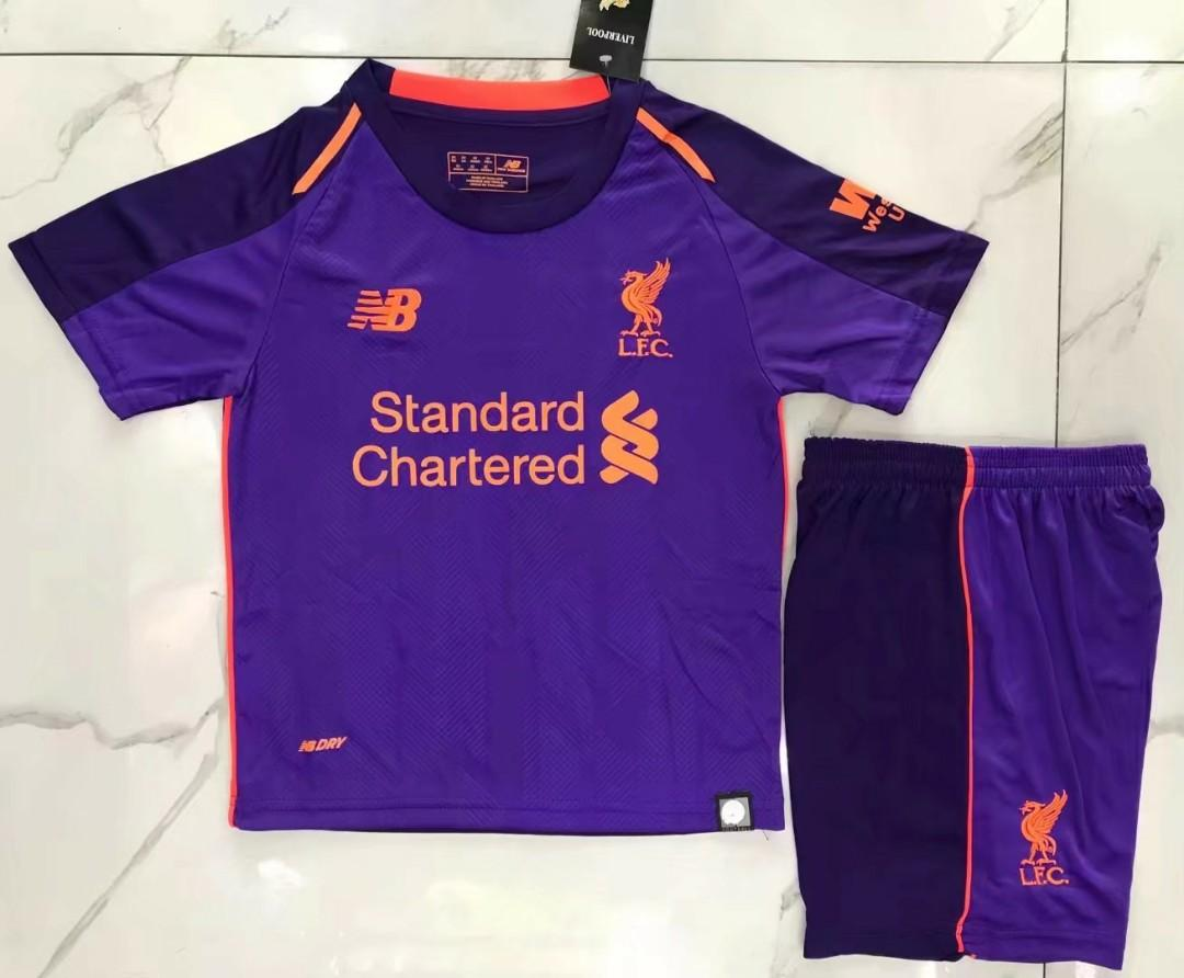 uk availability 08ae0 a4231 KIDS Liverpool Away kit 2018/19, Sports, Sports Apparel on ...