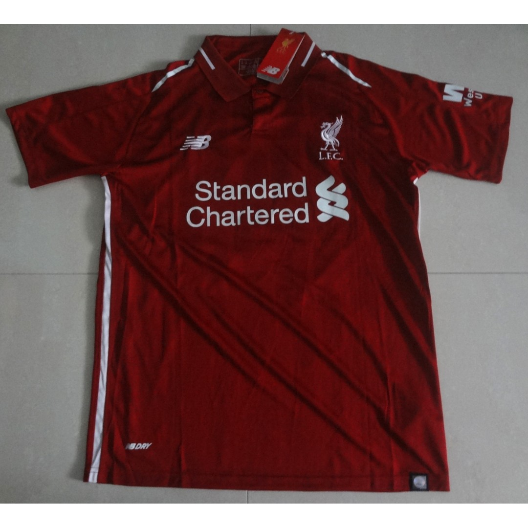 bb7cce6ea Liverpool BNWT Home Jersey 18 19 Sadio Mane READY STOCK