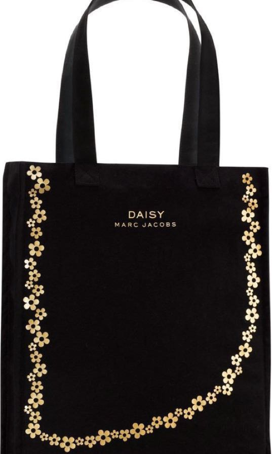 e871e4ba8d Marc Jacobs Daisy Tote Bag Black, Women's Fashion, Bags & Wallets ...