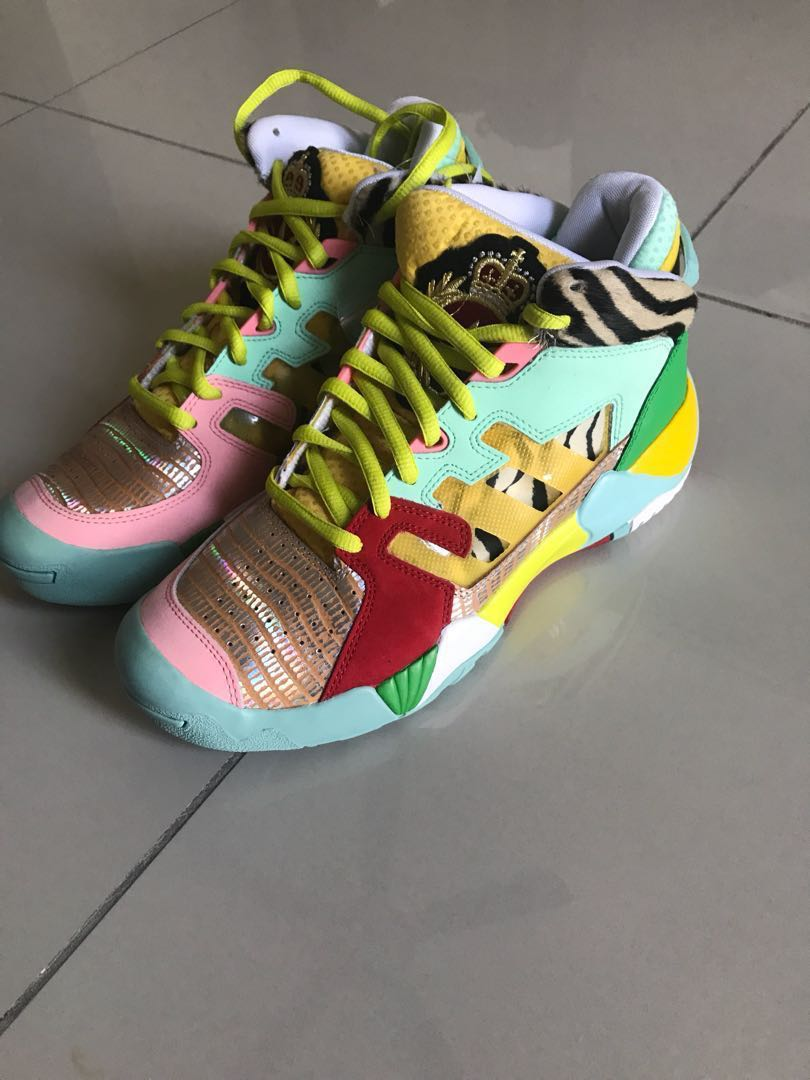 4cf637409f20 New! Adidas Jeremy Scott street ball limited edition sneakers shoes ...