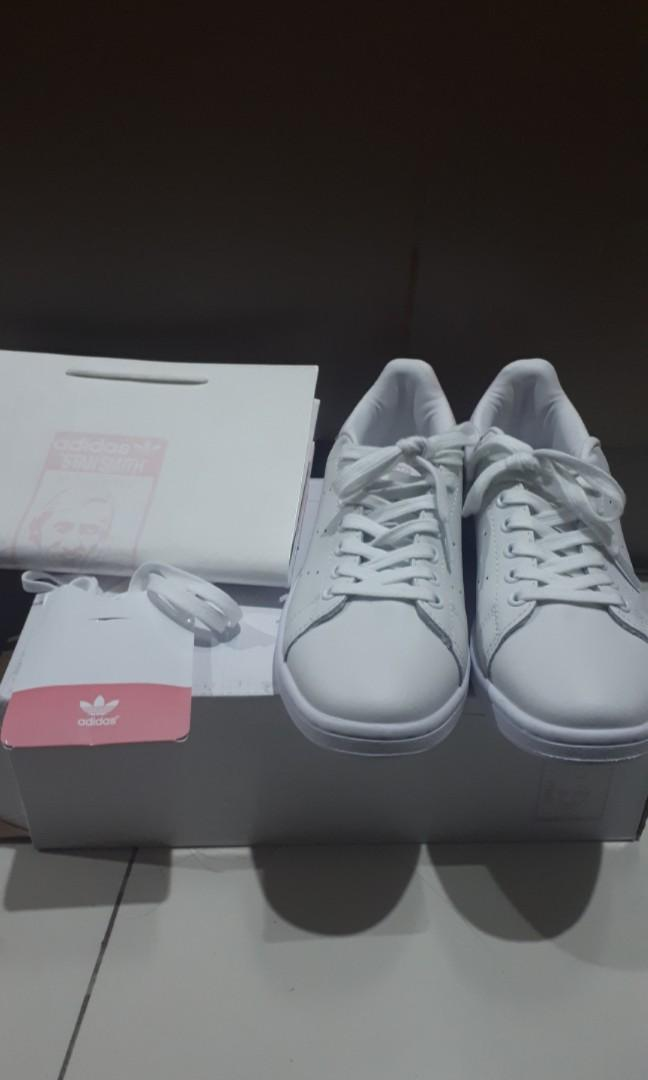 promo code 7062b e8a15 NEW ADIDAS STAN SMITH PASTEL PINK on Carousell