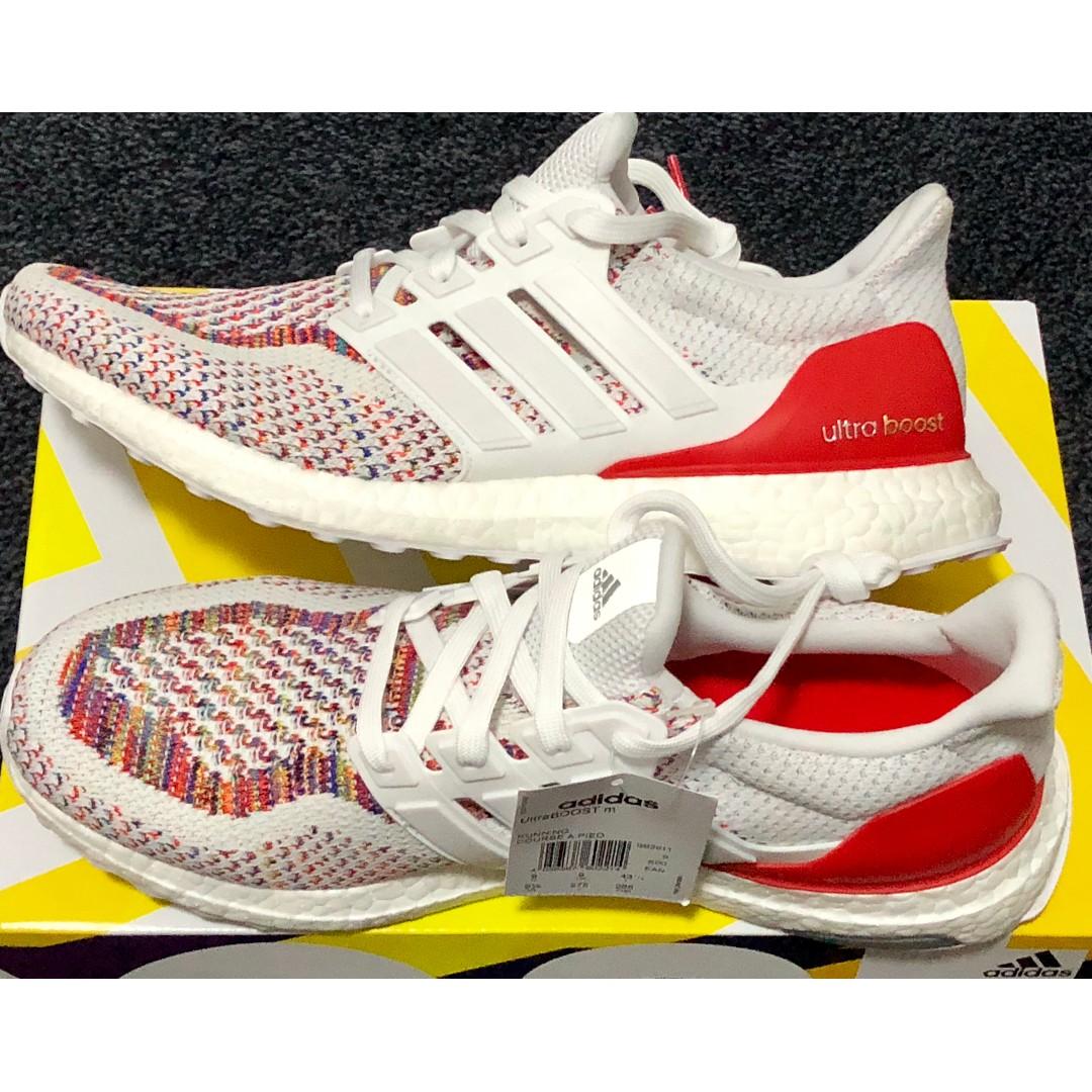 00cbc670d309e New Adidas Ultra Boost 2.0 Multicolor Multi UK 9 US 9.5