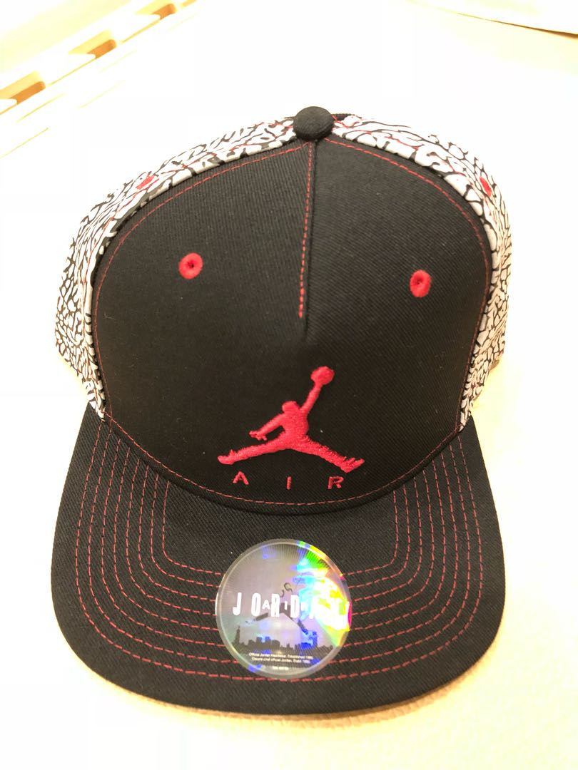 cb86a9cff66 ... norway nike jordan hat flat brim cap mens fashion clothes others on  carousell e7b4e b8d35