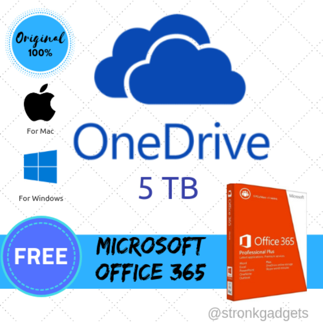 ONEDRIVE 5TB CLOUD STORAGE