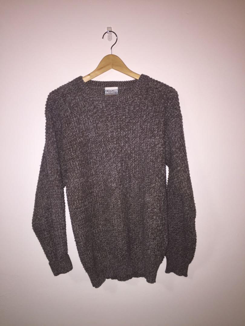 Over-sized Sweater dusty purple