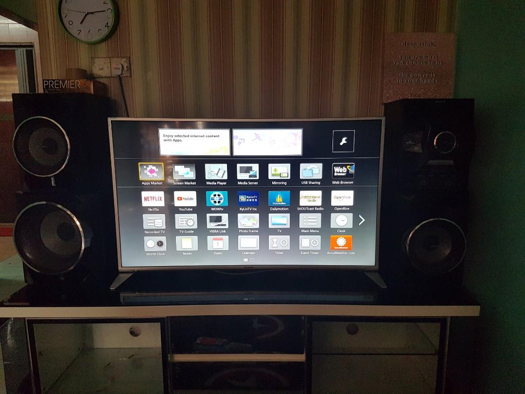 Panasonic Viera 49 Full Hd Smart Tv