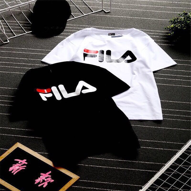 1d76db19d4bb PO] FILA Inspired T-Shirt, Men's Fashion, Clothes, Tops on Carousell
