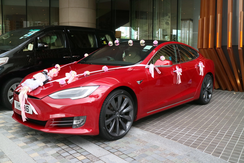 Red Model S 婚禮花車/攝影/化妝服務