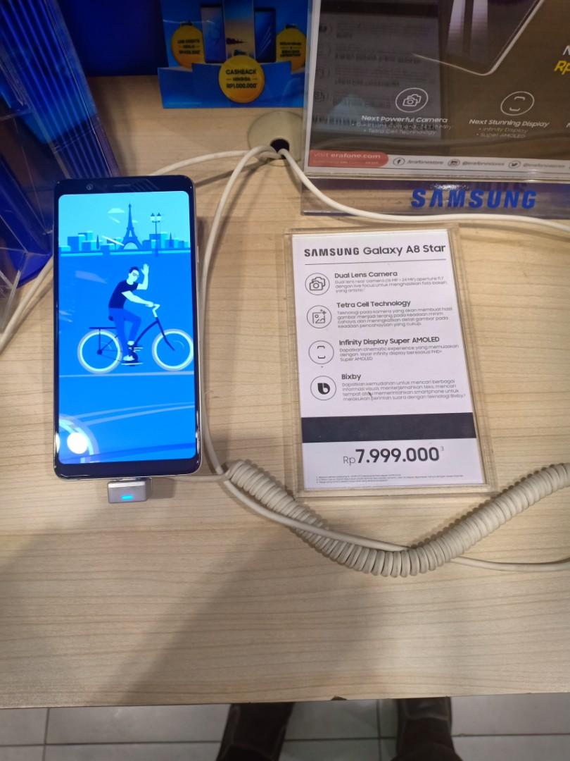 Samsung Galaxy A8 Star Bisa Cicil Tanpa Bunga Telepon Seluler Tablet Ponsel Android Di Carousell