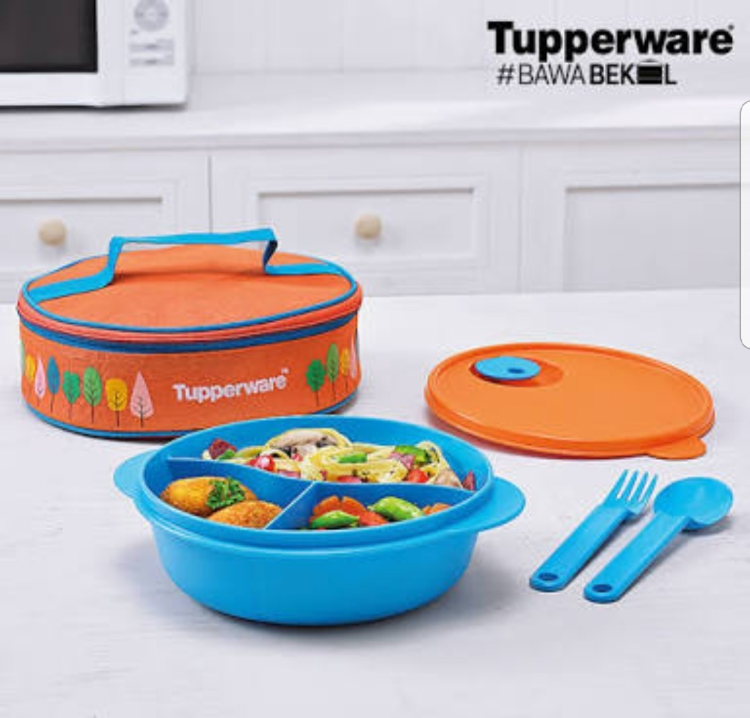 Tempat/Bekal Makan Tupperware .