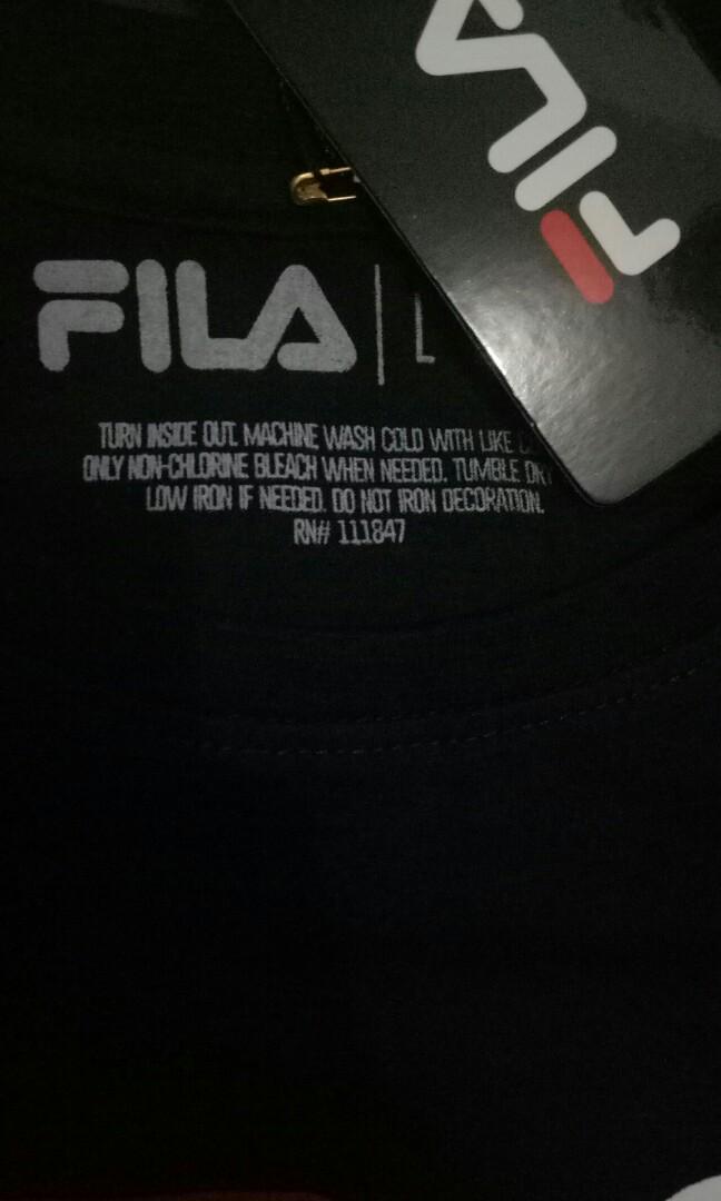 Tshirt FILA black