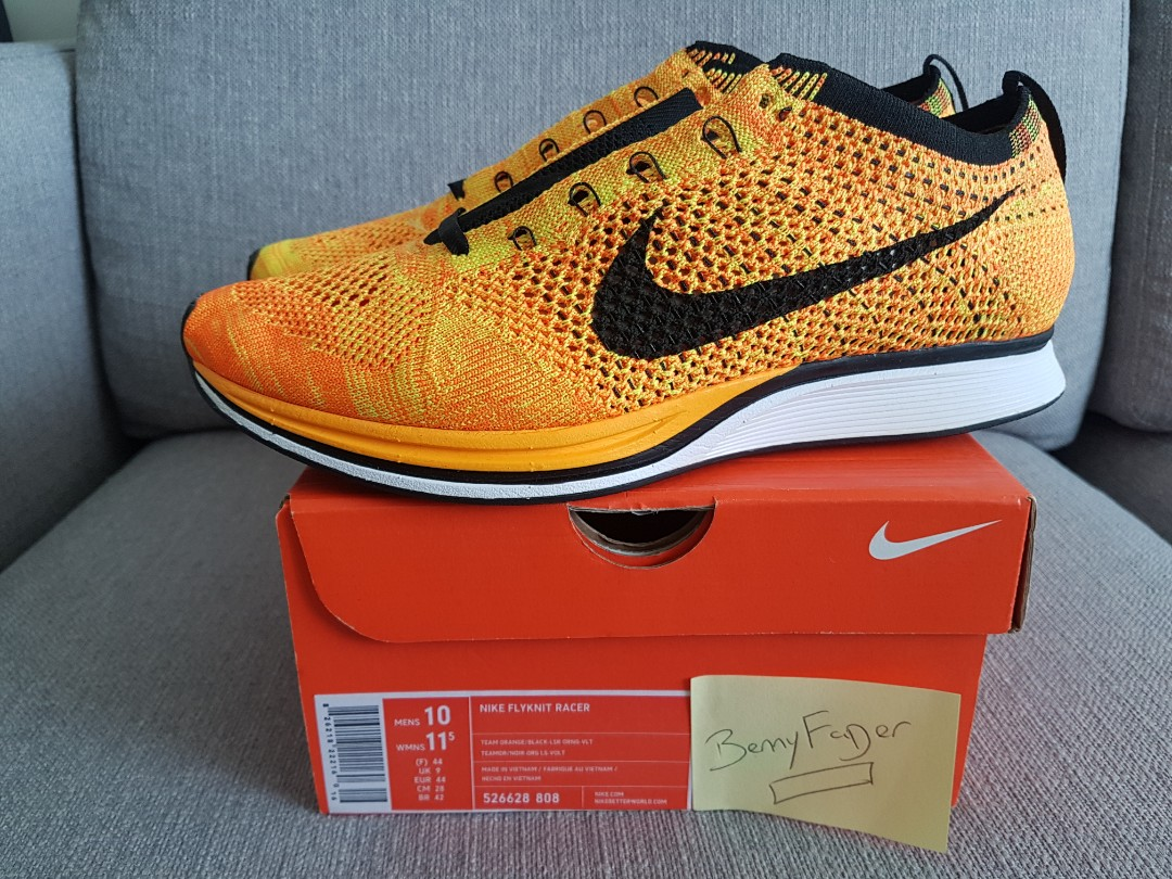 a61eb5f9c9f0 Ultra rare Brand New 100% Authentic Nike Flyknit Racer US10 UK9 ...