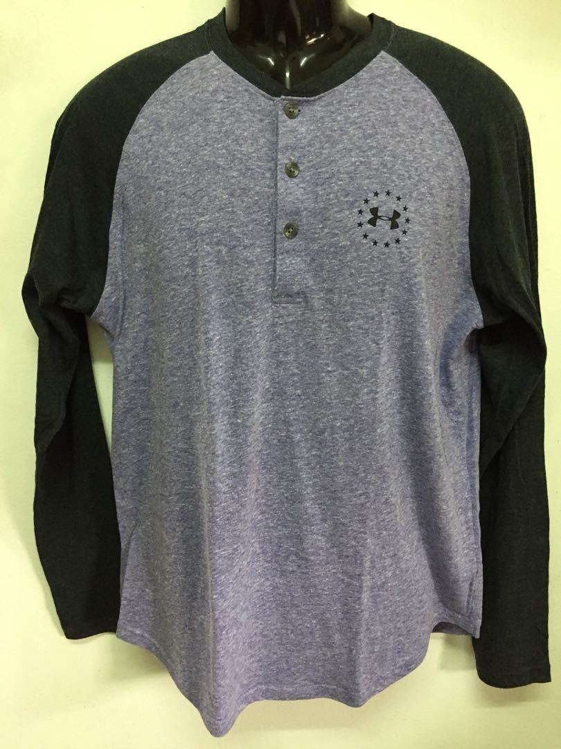 Under Armour Long Sleeve Mens Fashion Clothes On Carousell Charged Cotton Tshirt Kaos Size S
