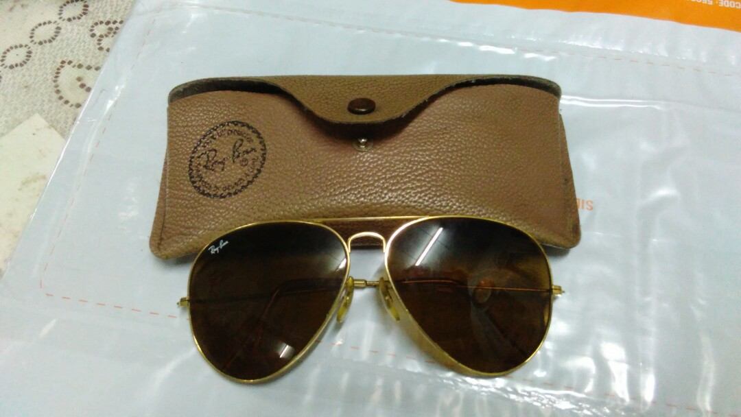 24ca8bd54 Vtg Ray-ban Aviator USA, Men's Fashion, Accessories, Eyewear ...