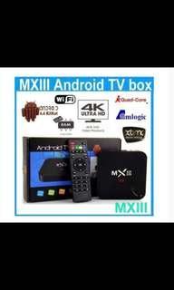 🚚 MXiii Android TV box 4K