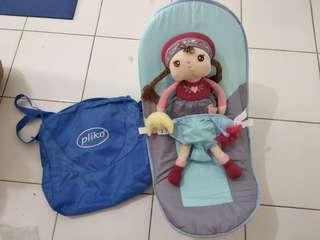 Fold up infant seat