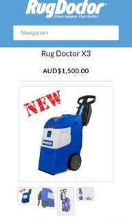 Rug doctor x3 almighty pro