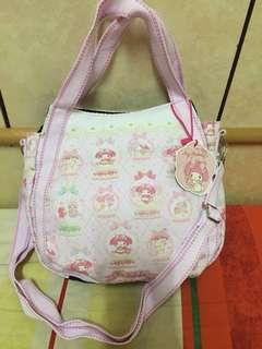 🚚 日版美樂蒂包包購物包手提包肩背包3way