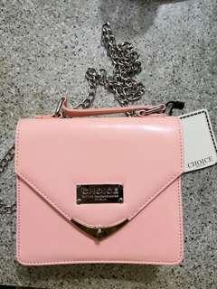 Choice 手袋  粉紅  漆皮