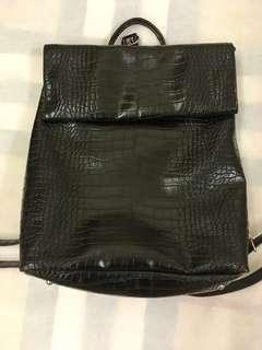 🚚 MIXXO皮革後背包