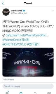 [share] wanna one world tour (one the world in seoul) DVD sharing