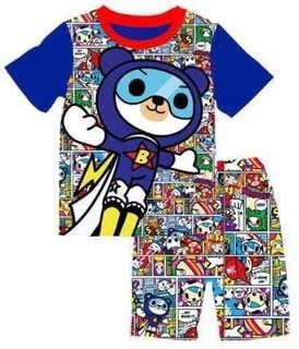 Tokidoki Spaceman Tshirt Shorts Set 3T