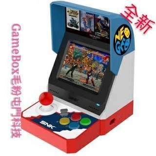 全新行貨 NEOGEO mini SNK40週年 特別版遊戲機 現貨發售