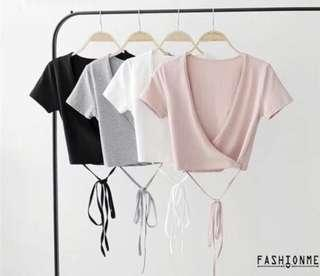 🚚 Pink cropped top