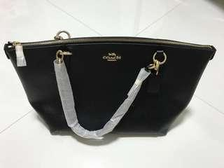 Reduced! Brand New With Receipt 100% authentic bought from HK Citygate Outlet COACH AVA TOTE IN CROSSGRAIN LEATHER F57526 (BLACK)