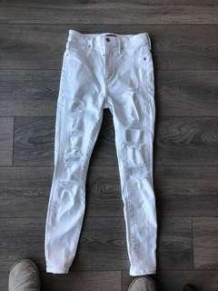New Abercrombie Jeans Size US4