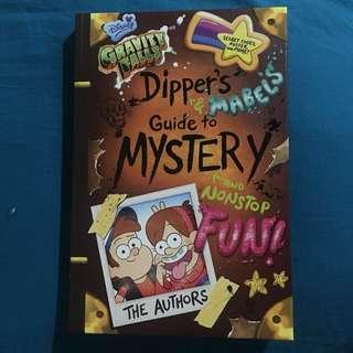 Disney Gravity Falls Dipper's & Mabel's Guide to Mystery and Nonstop Fun