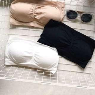 🚚 彈性平口小可愛-黑 #九月女裝半價