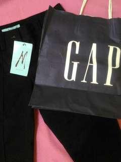 Celana Formal Hitam GAP