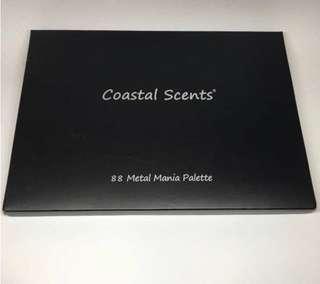 包順豐站 Coastal Scents 88 Metal Mania Eyeshadow Palette #sellitnow