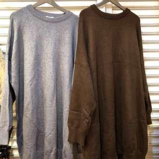 🚚 針織oversize柔軟洋裝 #九月女裝半價