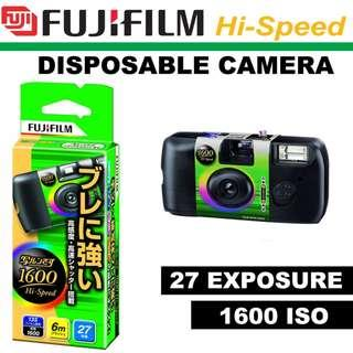Fujifilm 1600 Hi-speed Simple Ace 27 Exposures disposable camera