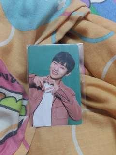 Wanna One Yoon Jisung Premier Fan Con Photocard