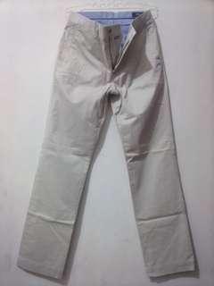 Celana Chino Polo classic fit White Original