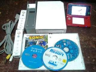 Nintendo 3ds and wii