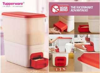 Tupperware rice box dispenser tempat beras