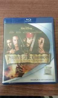 Blu ray Pirates of the Caribbean: Curse of the black Pearl